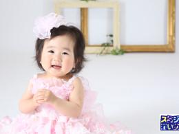 1歳BIRTHDAY女の子♬