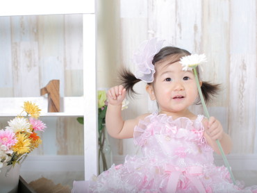 ♡1歳BIRTHDAYの女の子♡