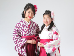 姉妹袴撮影(^O^)