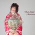 成人前撮り ~古典柄  ピンク系  チェリーピンクまり桜のし目~