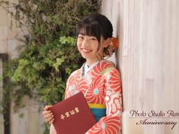 卒業式前撮り ~高校卒業袴~