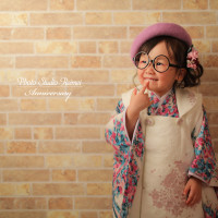 🌼七五三3歳撮影 ドレスと着物🌼