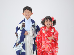 七五三撮影⭐5歳3歳ご兄妹