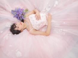 ❁成人前撮り 生花リーズナブルプラン ドレス撮影も❁