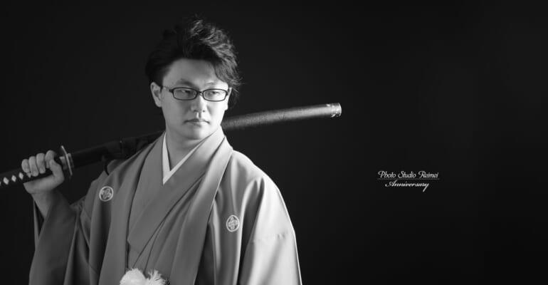 🌿成人撮影 紋付袴🌿