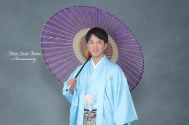 🌿成人式撮影 紋付袴🌿