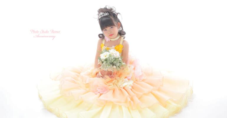🎀七五三7歳 お着物とドレス撮影🎀