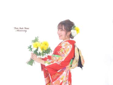 ❁成人前撮り 生花リーズナブルプラン❁